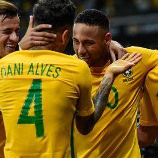 brasil no tendra a neymar ni dani alves contra argentina
