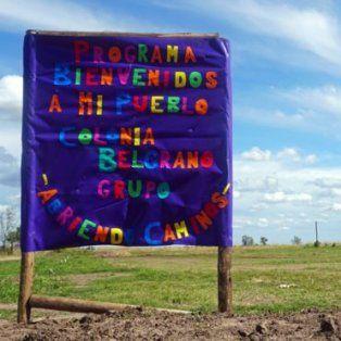 Este es el terreno donde se construirán las 20 casas de Bienvenidos a mi Pueblo. (Gentileza BBC Mundo)
