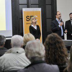José Corral presentó Tecnópolis ante instituciones de la Ciudad