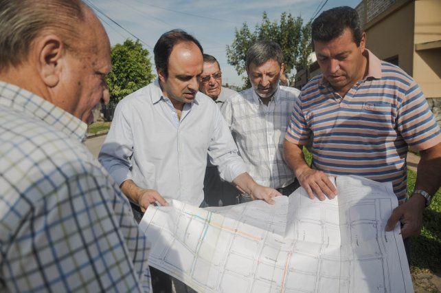 El Municipio avanza con las obras de desagües cloacales en Los Hornos