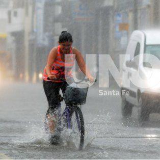se renovo el alerta por tormentas fuertes que abarca a toda la provincia