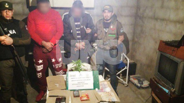 Sin salida: cayeron los principales vendedores de drogas de El Trébol en el departamento San Martín