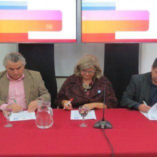 nacion y provincia firmaron un convenio para formar profesionales