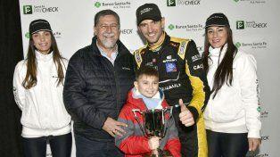 Facundo Ardusso ganó de punta a punta y se llevó la Copa Banco Santa Fe