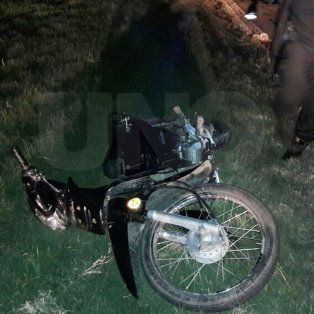 murio un motociclista y su acompanante resulto con heridas graves cerca de san lorenzo