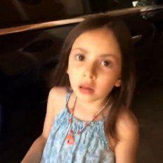 ¿Qué tenés en la cara?: mirá la ingeniosa respuesta de esta nena