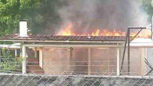 Venezuela sin paz: quemaron la casa natal de Hugo Chávez