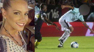 La novia de un jugador de Colón, al Bailando de Tinelli