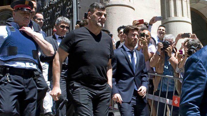 Ratificaron la condena para Lionel Messi