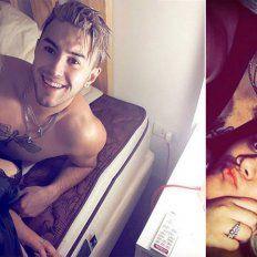 ¡Enamoradísimos! Morena Rial y su novio se tatuaron sus nombres