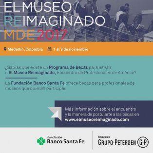 la fundacion banco santa fe becara a profesionales de museos para participar de un encuentro en medellin