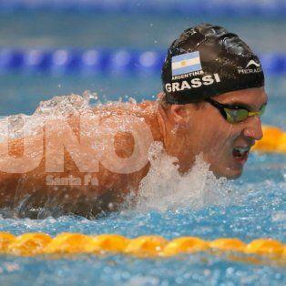 la seleccion argentina de natacion tendra a un santafesino