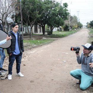 Un artista revolucionó las calles de Alto Verde para contar las historias del barrio