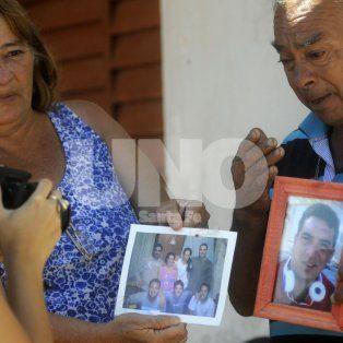 A pesar del dolor. Los padres de Lucas tienen fe en que se hará justicia.