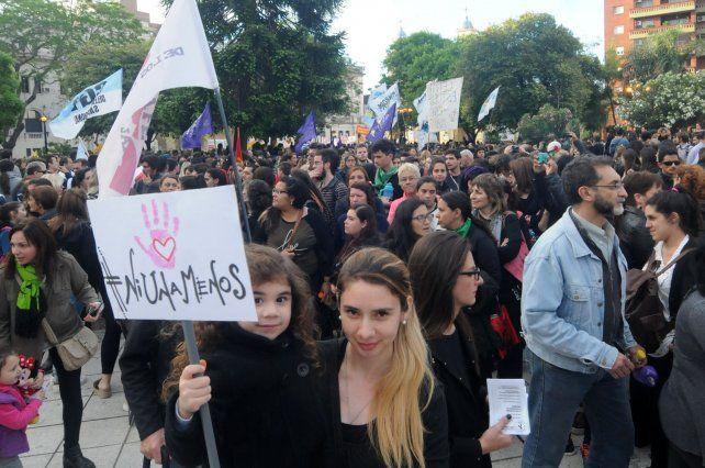 Marcha en Corrientes por dos femicidios y una mujer baleada en los primeros días de 2018