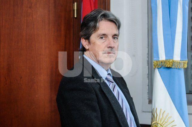 Ejecutor. El ministro de Gobierno José Garibay