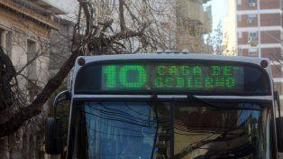 Transporte Público: habrá cambio de recorridos en San Jerónimo y Lisandro de la Torre