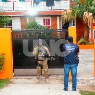 Detenido. El 10 de diciembre del 2016, la Tropa de Operaciones Especiales irrumpió en la casa del Zurdo.