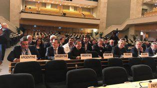 Romero llevó el reclamo docente a la 106º Conferencia Internacional del Trabajo