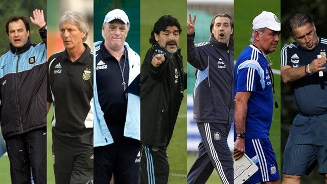 Las particularidades de los últimos debuts de los técnicos de la Selección