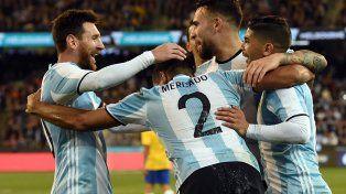 Argentina le ganó a Brasil por 1 a 0 con gol de Gabriel Mercado