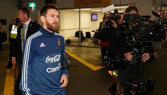 La Selección mantuvo la veda con la prensa argentina