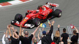 Kimi Raikkonen desplazó a Lewis Hamilton en Canadá