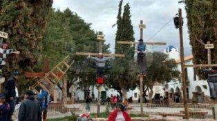 Crucificaron a un nene de 9 años en Jujuy
