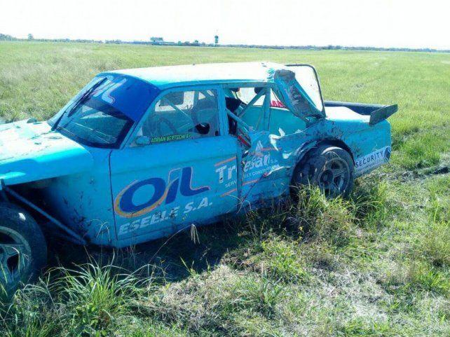 Horror en la pista: un auto se despistó y mató a un banderillero en Chaco