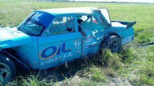 horror en la pista: un auto se despisto y mato a un banderillero en chaco