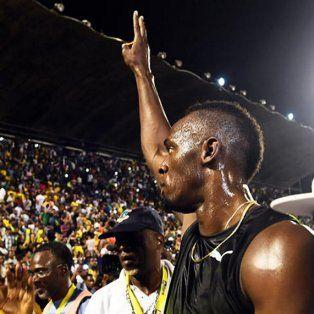 la emocionante despedida de usain bolt de jamaica