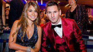 Messi y Antonella se casarán por civil dentro del casino City Center