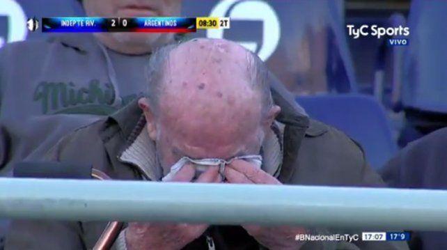 Esto es fútbol, señores: el abuelo leproso que lagrimeó en el 2 a 0