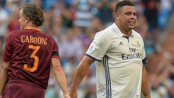 La impactante imagen de Ronaldo, que volvió al Real Madrid tras 10 años