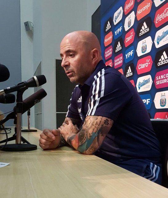 Jorge Sampaoli: El equipo está vigente y va a pelear