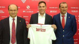 Berizzo fue presentado como nuevo técnico de Sevilla