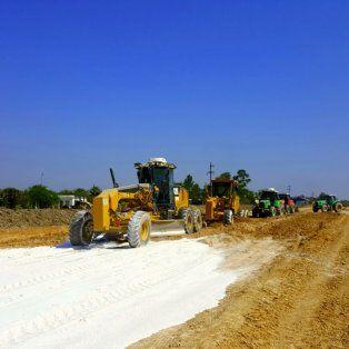 avanzan las obras de la ruta nacional 11