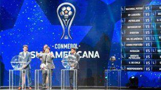 Se sorteó la segunda fase de la Copa Sudamericana