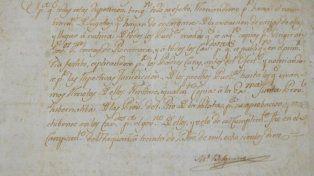Un documento de 1810 firmado por Belgrano es la pieza del mes en el Museo Histórico