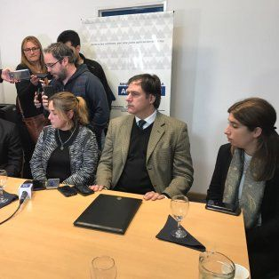 Detalles. Esta mañana, en la sede del MPA los investigadores explicaron el caso.