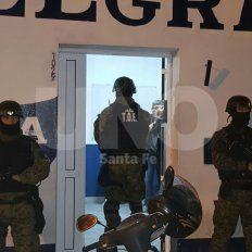 El procedimiento llevado a cabo por PDI en la ciudad de Esperanza.