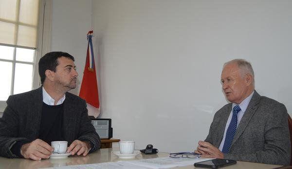 Lamberto recibió al subsecretario de Inclusión para Personas con Discapacidad