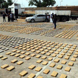 Desbarate. En la ruta nacional 14, en jurisdicción de Santo Tomé, Corrientes, se secuestró marihuana.