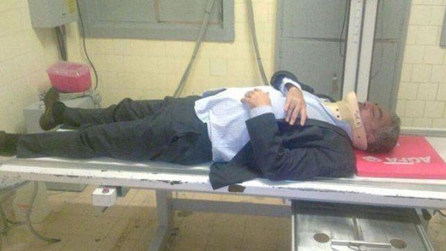 Un taxista amenazó y golpeó a un abogado de Cristina que quedó internado