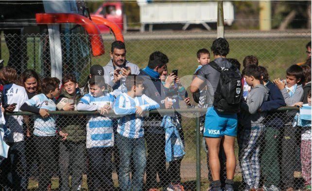 Invasión infanto juvenil para ver a Los Pumas en Santa Fe