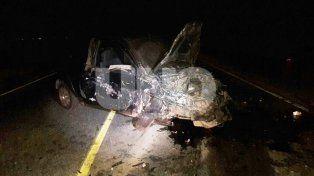 La triple colisión dejó como saldo un muerto y tres heridos
