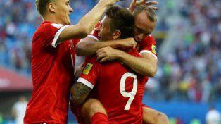 Rusia debutó con un triunfo en la Copa Confederaciones