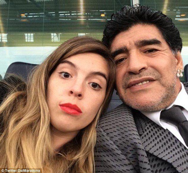 Dalma Maradona salió a pegarle a Dani Alves