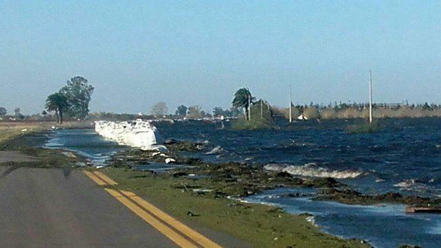 Por el temporal en Melincué hay tres personas desaparecidas