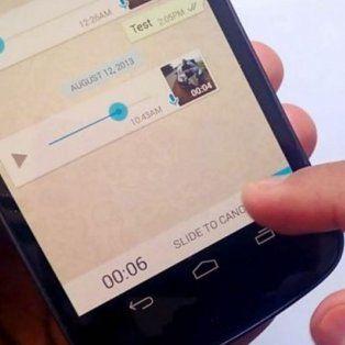 ¿como escuchar audios de whatsapp sin abrir el mensaje?